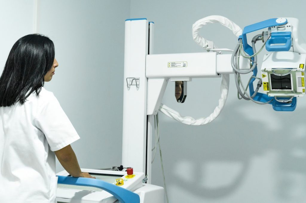 Radiology unit and diagnostic testing